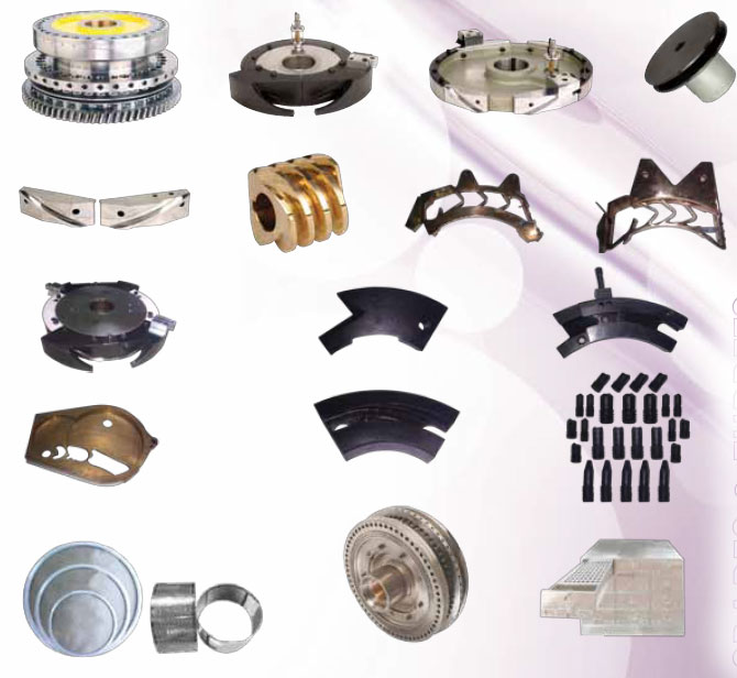 tableting machine parts